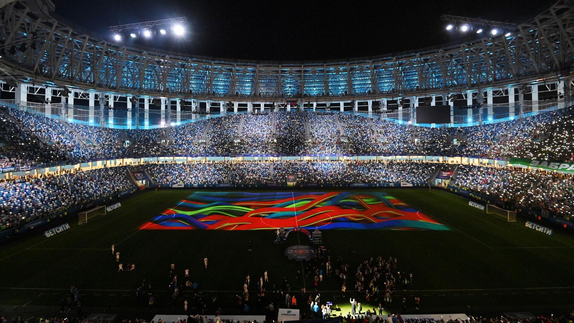 Церемония награждения победителей Кубка России по футболу - РИА Новости, 1920, 14.05.2021