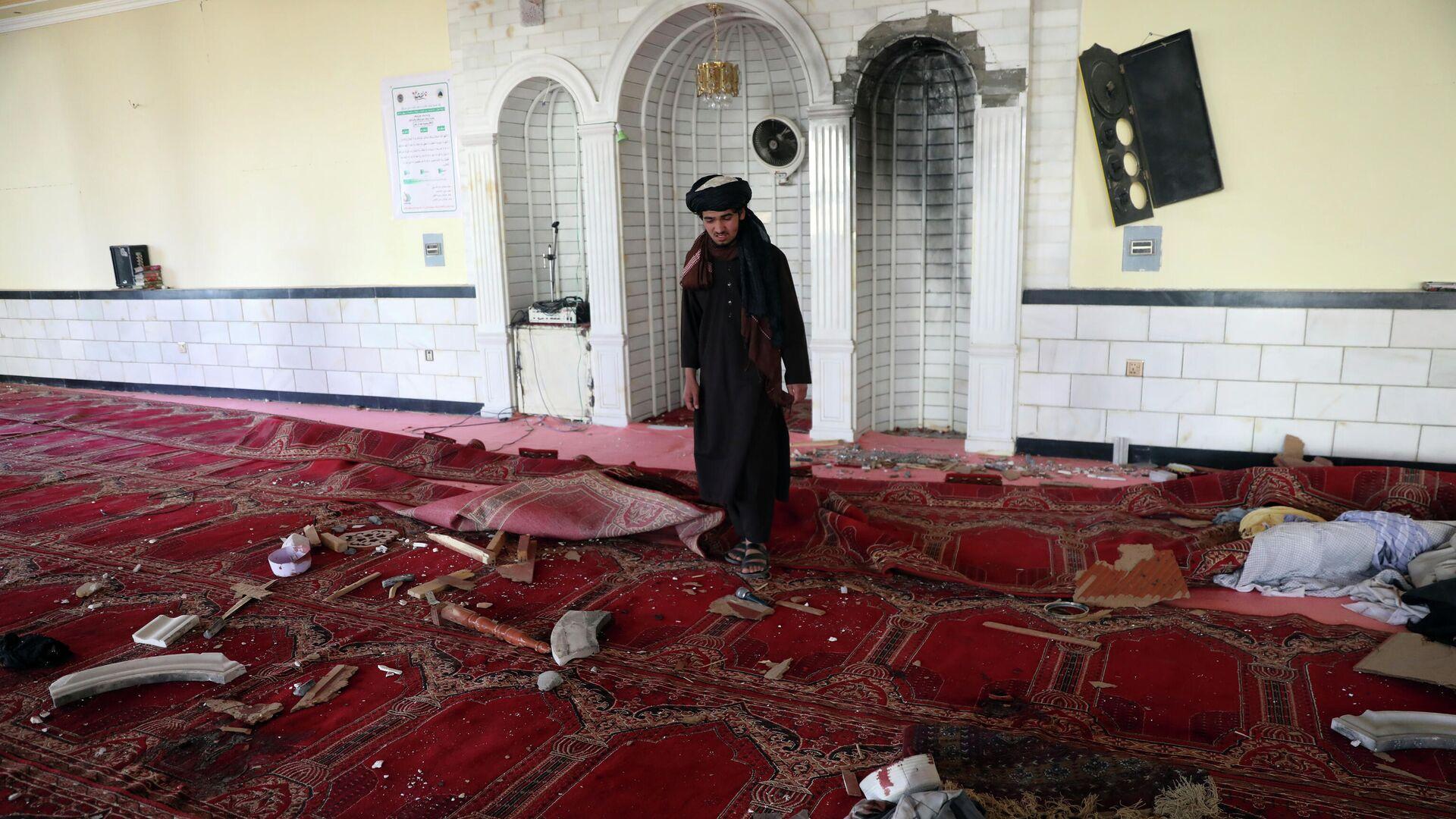 На месте взрыва в мечети в Кабуле, Афганистан. 14 мая 2021 - РИА Новости, 1920, 14.05.2021