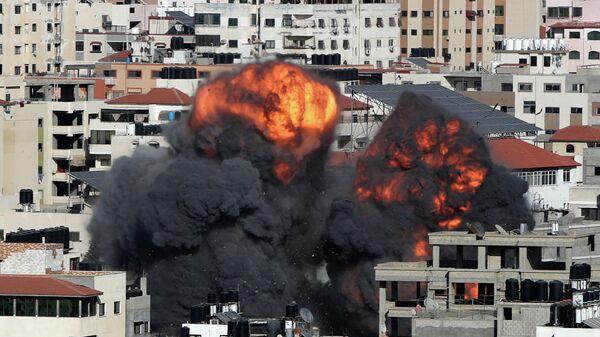 Израильский авиаудар по Газе