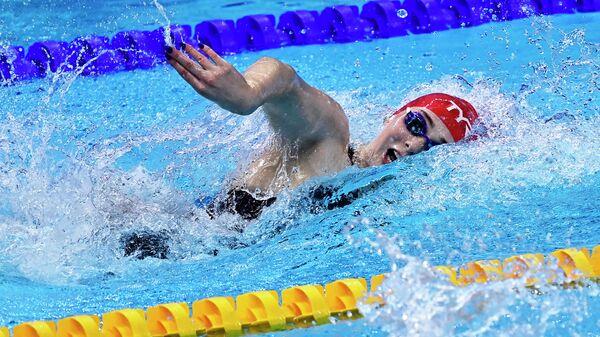 Представительница женской сборной Великобритании по плаванию Фрейя Андерсон