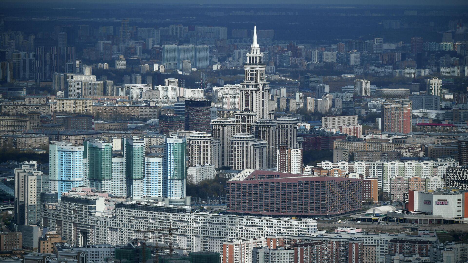 Виды Москвы - РИА Новости, 1920, 04.06.2021