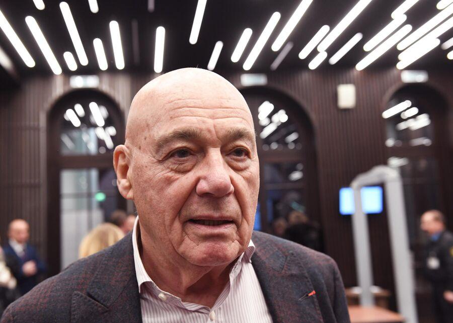 Журналист, телеведущий Владимир Познер
