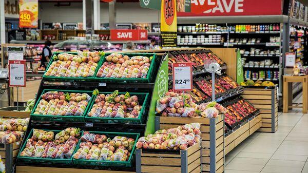 В России выросло производство продуктов питания