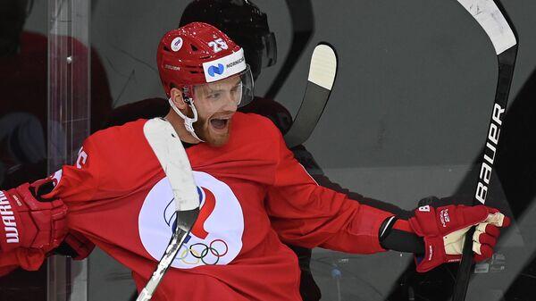Хоккеист Михаил Григоренко (Россия)