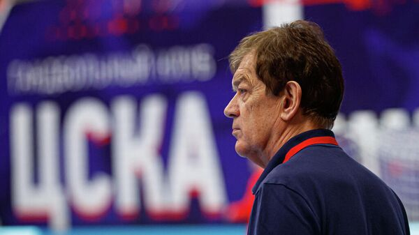 Главный тренер гандбольного клуба ЦСКА Велимир Петкович