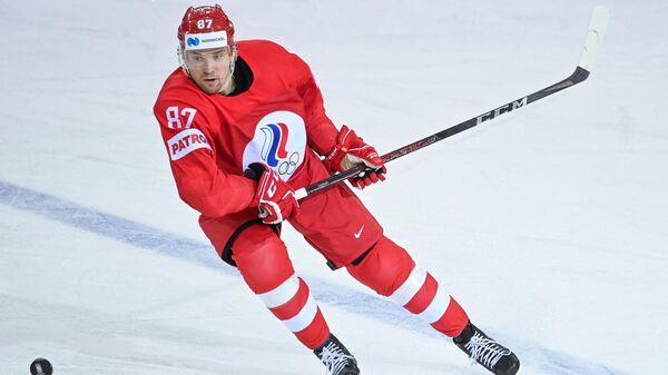 Хоккеист сборной России Рушан Рафиков