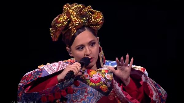 Выступление Манижи в финале Евровидения