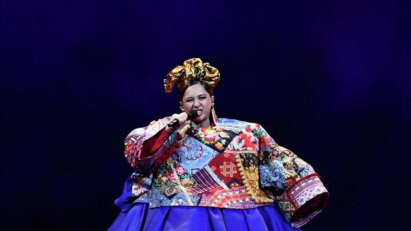 Выступление Манижи в финале конкурса Евровидение-2021 в Роттердаме