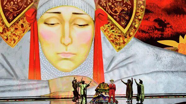 Певица Манижа (Россия) выступает в финале песенного конкурса Евровидение-2021выступает в финале песенного конкурса Евровидение-2021