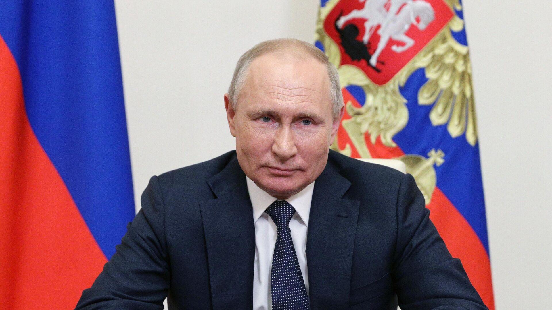 Президент РФ Владимир Путин - РИА Новости, 1920, 14.06.2021