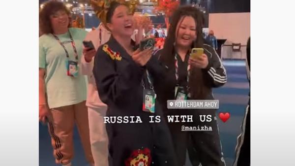 Манижа спела для итальянцев на Евровидении
