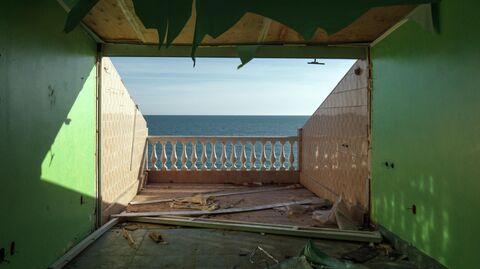 Снос незаконно построенных эллингов в Сочи