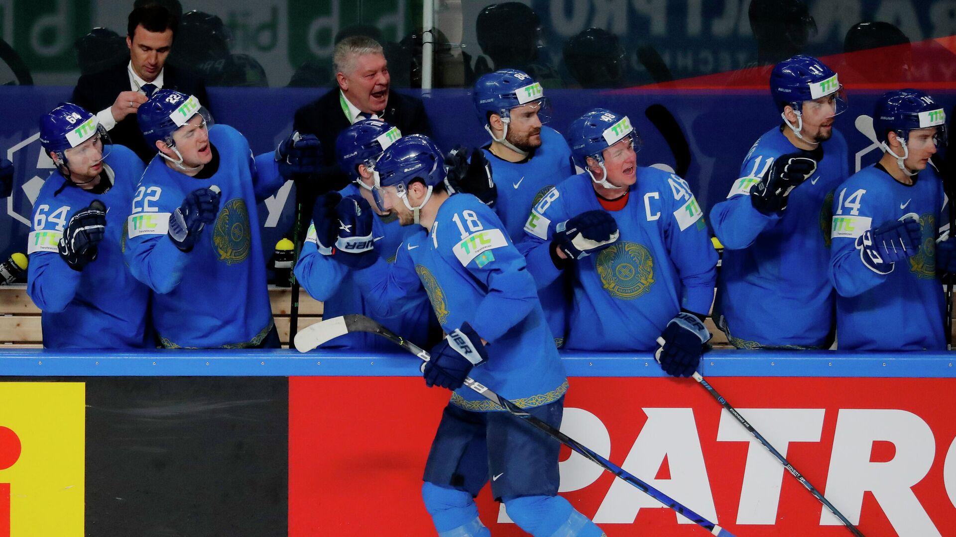 Хоккеисты сборной Казахстана - РИА Новости, 1920, 26.05.2021