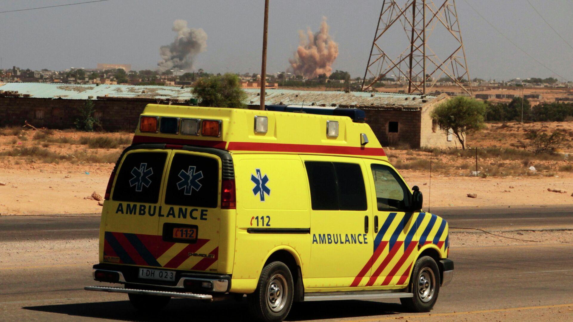 В Ливии при взрыве автомобиля погибли четыре человека