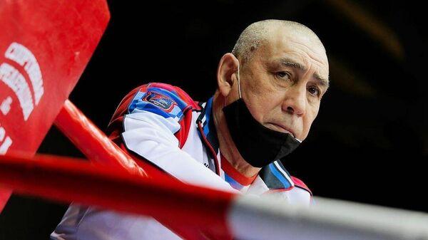 Главный тренер мужской сборной России по боксу Виктор Фархутдинов