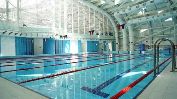 Бассейн корпуса Спорт образовательного центра Сириус в Сочи