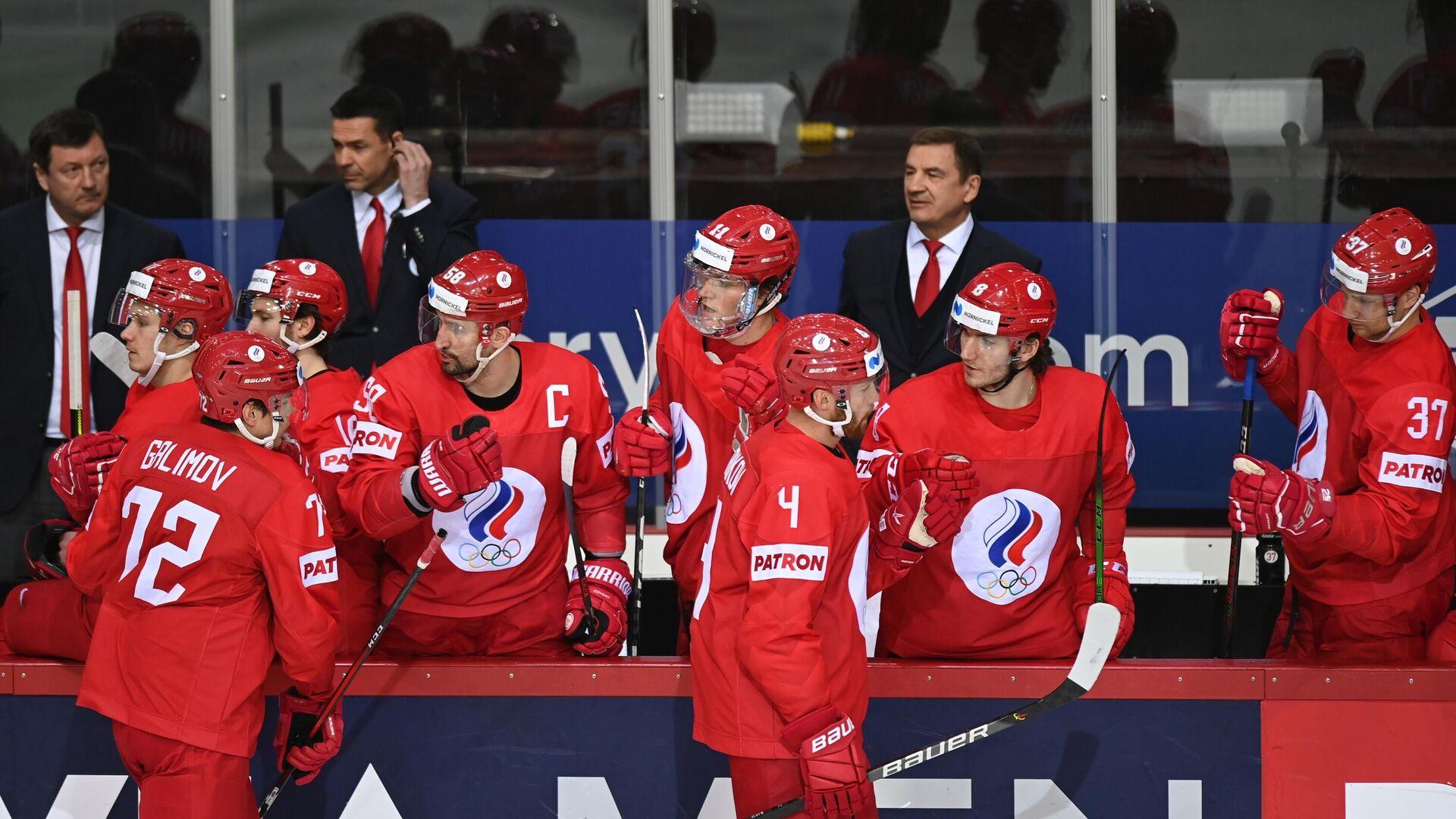Хоккеисты сборной России - РИА Новости, 1920, 02.06.2021