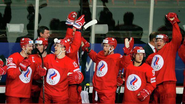 Сборная России по хоккею на чемпионате мира - 2021