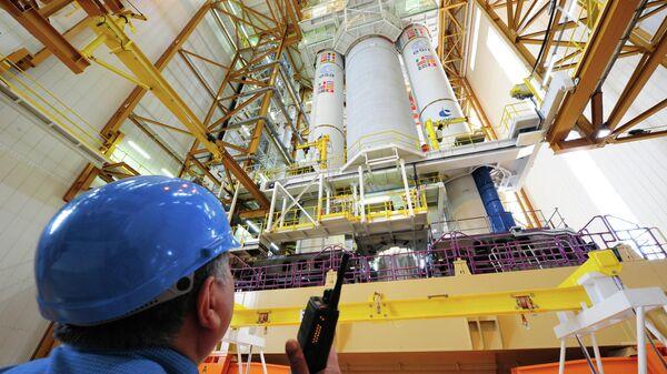 Комплекс окончательной сборки ракеты Ариана - 5