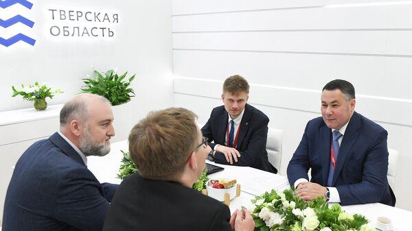 Правительство Тверской области и финская компания Фодеско-МАК