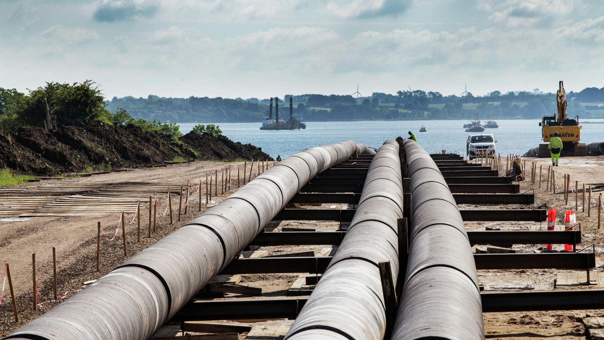 Фьючерсы на газ в Европе подешевели на 6%