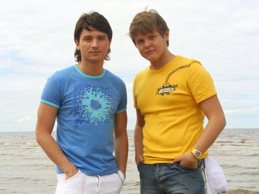 Александр Жданов с Сергеем Лазаревым