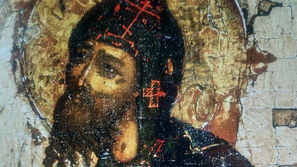 Александр Невский. Фрагмент иконы XVII века