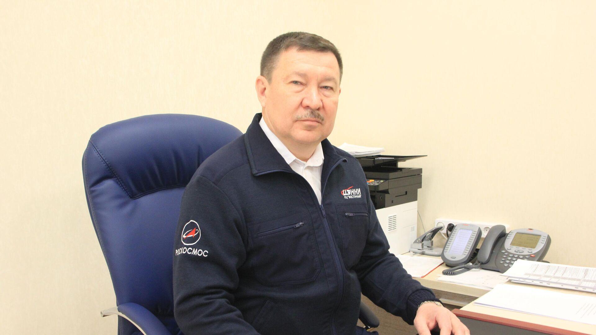 Новым директором космодрома Восточный стал Валинур Агишев