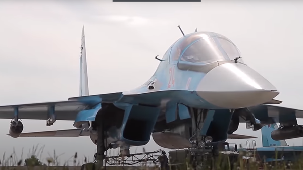 Учения Су-34 в Курганской области