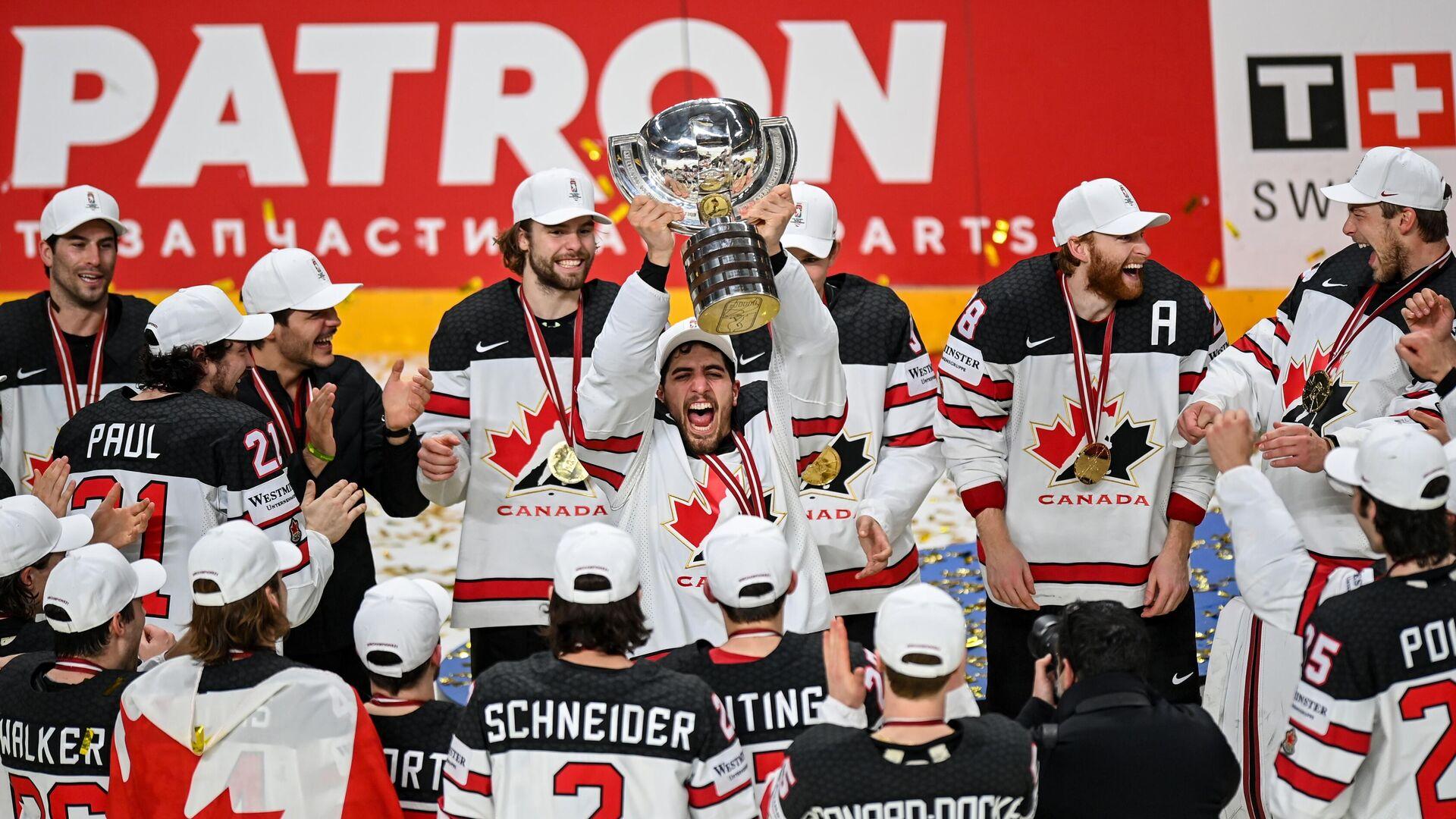 Сборная Канады - чемпион мира-2021 - РИА Новости, 1920, 07.06.2021