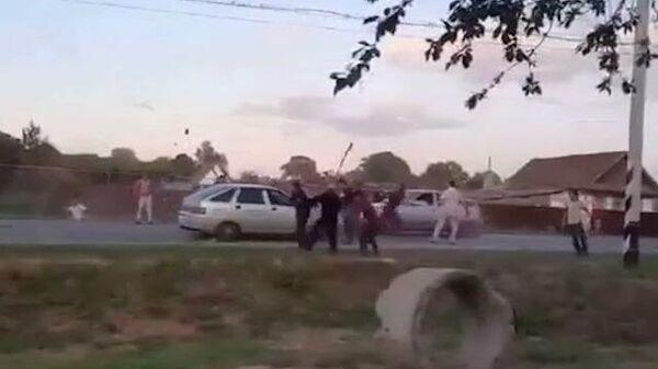 Массовая драка после свадьбы в Ульяновской области