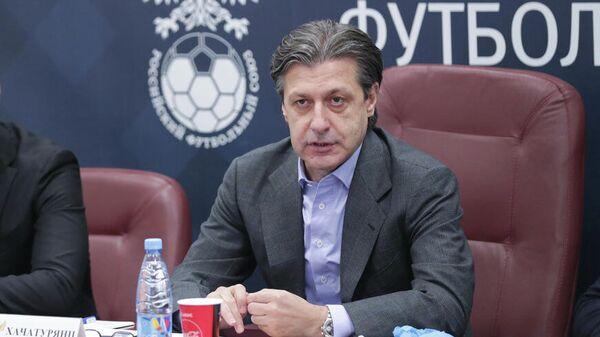 Председатель судейского комитета Российского футбольного союза (РФС) Ашот Хачатурянц.