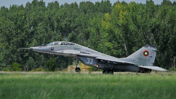 Истребитель МиГ-29 ВВС Болгарии