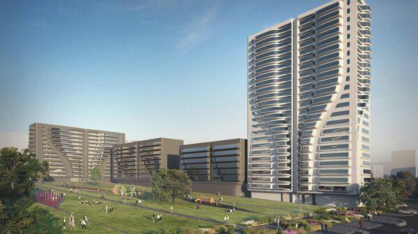 Проект Zaha Hadid Architects + А-Проект.К для программы реновации в Москве