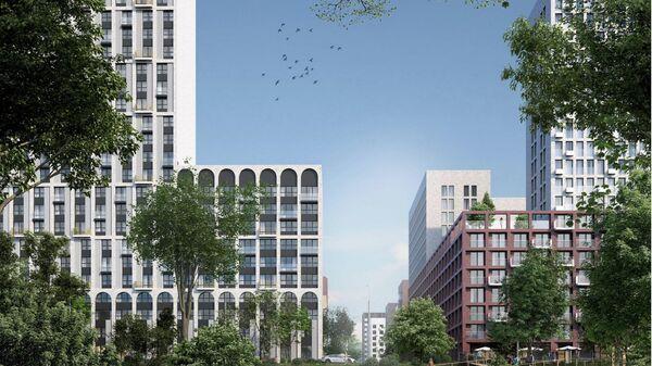 Проект KRNV Architects + LDA Design для программы реновации в Москве