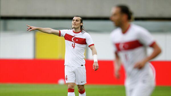 Soccer Football - International Friendly - Turkey v Moldova - Benteler Arena, Paderborn, Germany - June 3, 2021 Turkey's Caglar Soyuncu REUTERS/Leon Kuegeler