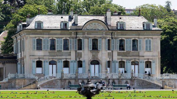 Вилла Ла Грандж в Женеве, где пройдет саммит президентов России и США