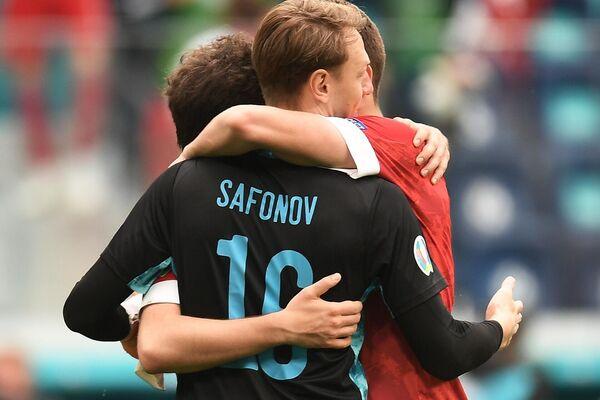 Вратарь сборной России Матвей Сафонов