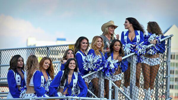 Группа поддержки команды Даллас Ковбойс