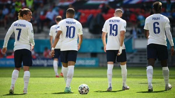 Футболисты сборной Франции
