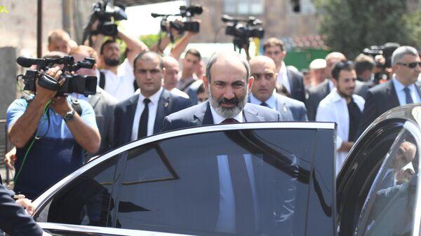 Исполняющий обязанности премьер-министра Никол Пашинян