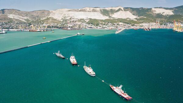 Корабли Черноморского флота ВМФ России в Новороссийске