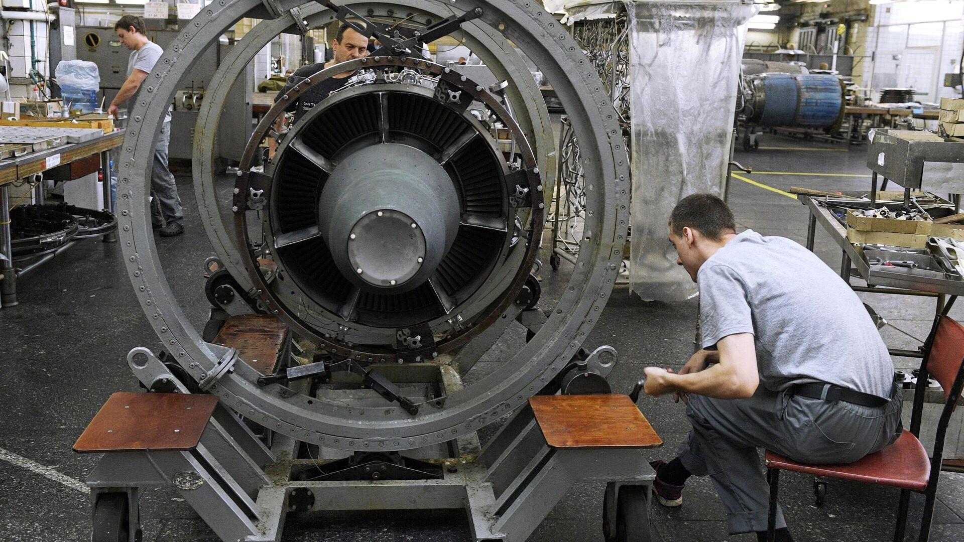 Производство авиадвигателей на ММП имени В. В. Чернышёва - РИА Новости, 1920, 24.07.2021