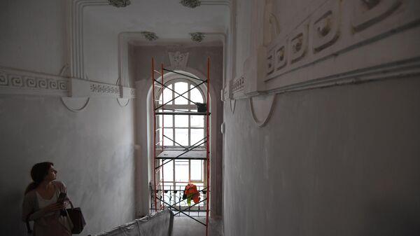 Дом-объект культурного наследия в Сеченовском переулке
