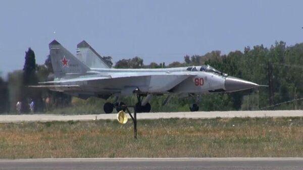 Переброска в Сирию российских истребителей