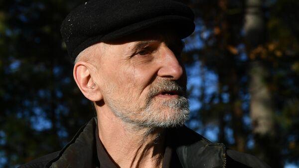 Музыкант и актер Петр Мамонов