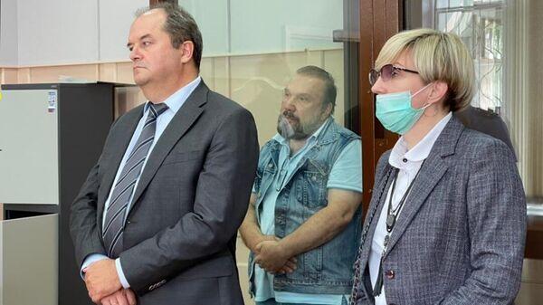 Бизнесмен Виктор Батурин на заседании Басманного суда Москвы