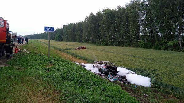На месте ДТП в Тамбовской области, где погиб ребенок