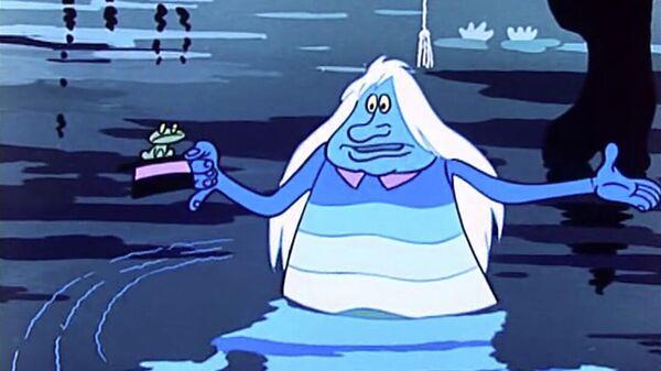 Кадр из мультфильма Летучий корабль