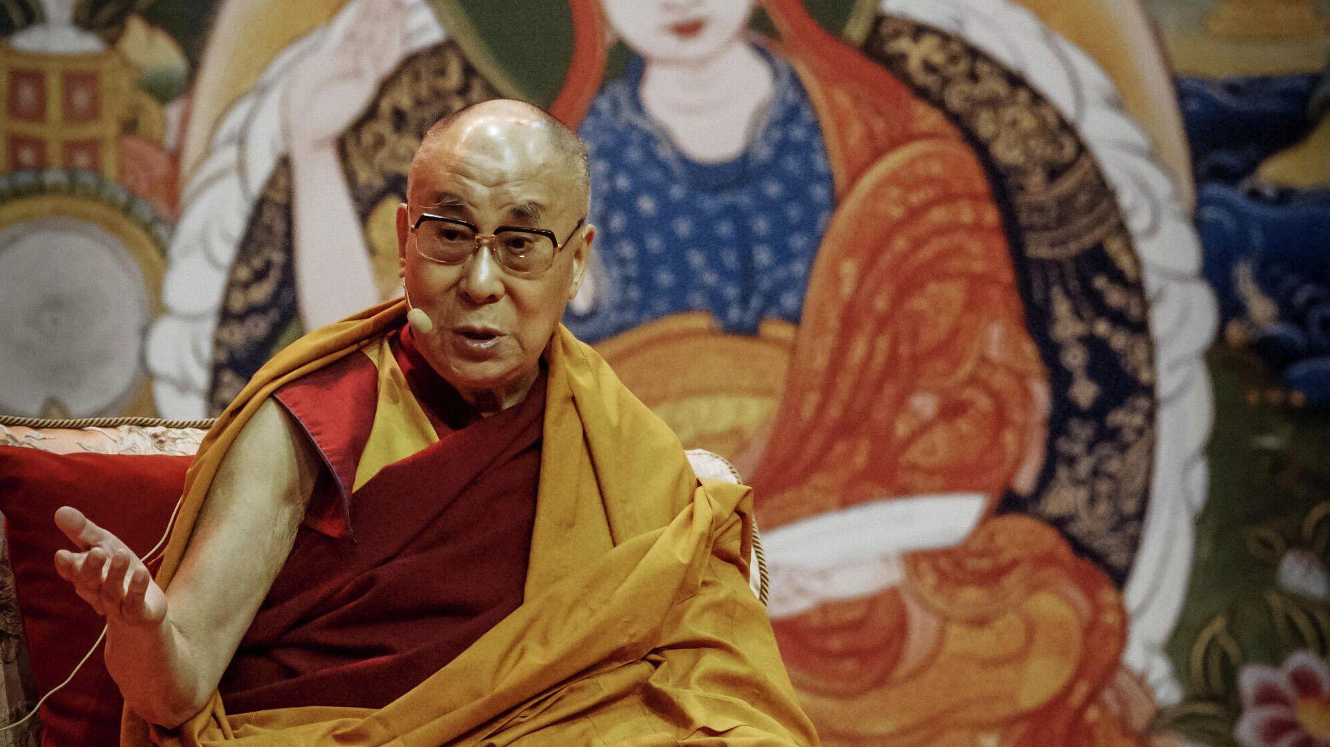 Духовный лидер буддистов Далай-лама XIV  - РИА Новости, 1920, 10.07.2021